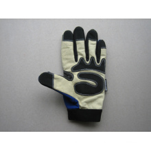 Pig Grain Leather Palm Mechanic Work Glove-7302.01
