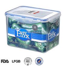 Recipiente de armazenamento de arroz plástico Easylock 4.25L