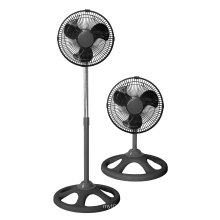 10inch Industrial Stand Fan 2 in 1 Black Color (FS25A21)