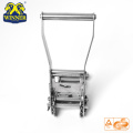 Stainless Long Wide Handle Steel Ratchet Buckle For Webbing