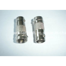 F Plug to BNC Female Converter Adapter