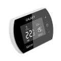 Big LCD Touch Screen RF Wireless Programmable Room Thermostat