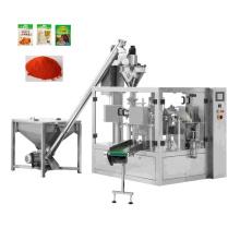 Automatic Rotary Premade Pouch Chilli Curry Masala Pepper Chili Powder Packing Machine