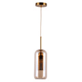 Glass shade energy saving edison bulb pendant lamp