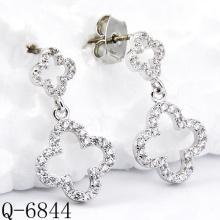 Neueste Styles Ohrringe 925 Silber Schmuck (Q-6844)