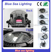 54pcs x 3w stage light disco equipment IP65 led par 64 rgb dmx stage lighting