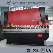 67Y-250T / 4000 máquina de dobra de folha de cobertura hidráulica de baixo ruído