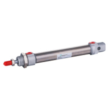 Stainless Steel Double Acting Round Air Cylinder G1/8""