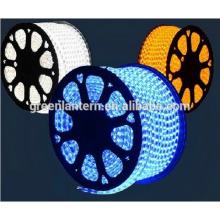 Luz de tira llevada flexible del alto voltaje 110v 220v 240 voltios 3528 SMD 5050