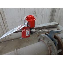 Aprobar CE nuevo tamaño pequeño y control efectivo operador de engranaje universal para la válvula de compuerta