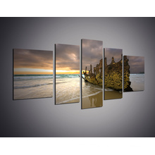 Home Decor Canvas Painting Seascape Poster Art Print Beach Wall Art