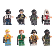 8pcs/set children educational plastic minifiguring legoing toy building blocks kids building blocks toys