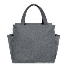 insulated cooler bag handle high quanlity piknik set customize logo material size use polyester waterproof aluminum cooler bag