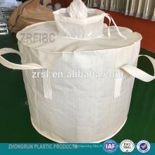 ton sac - sac cylindrique fibc pour sac de 600kg avec doublure en PE à l'intérieur