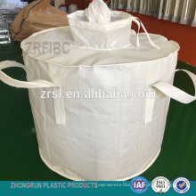 ton bag - cylinder bag fibc for 600kg bag with PE liner inside