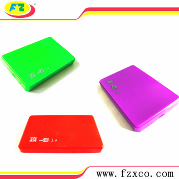 2.5 Plastic USB 2.0 SATA HDD Case