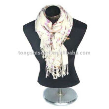 Fashion printed wool scarf and shawl
