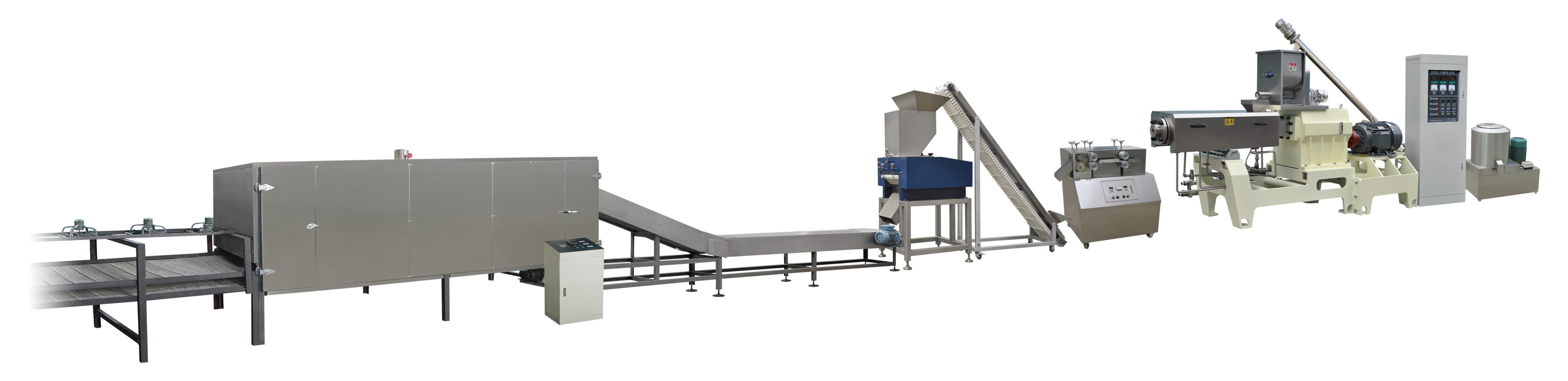 Panko bread crumb extruder making machine