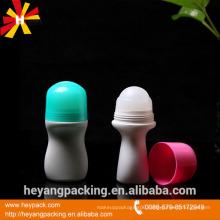 50ml plastic roll on deodorant empty bottle