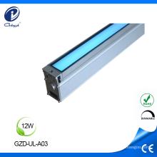 12W waterproof aluminum housing RGB led inground light