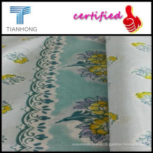 Soild Dyeing Printing Poplin for Home Textile/Floral Printed Fabric for Making Children Skirts/Cotton Poplin Fabric