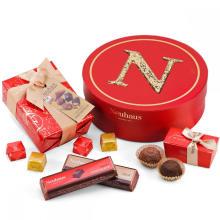 Caixa de embalagem de doces linda círculo