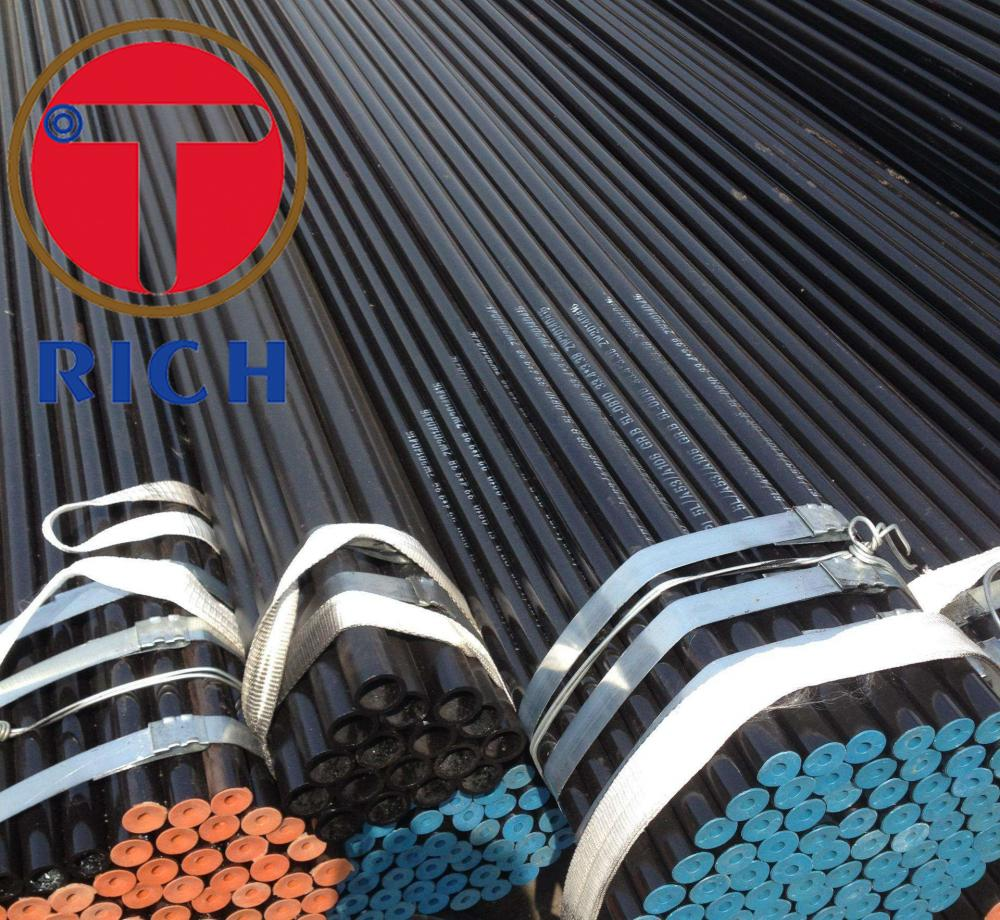 Non-alloy Black Coating Carbon Steel Pipe Gas Pipe