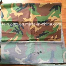 600d Camouflage imprimé Oxford pour le tissu uniforme militaire