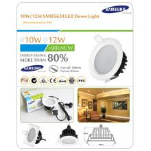 Remplacez 120W halogène Downlight18W surface encastrée LED Low Profile haute performance commerciale Downlight (Dimmable)