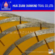 Sécurité et environnement Scie à diamant 250 mm pour la coupe de marbre
