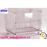 foldable wire mesh basket(Collapsible mesh container)
