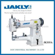 Cama do cilindro da agulha JK335ASingle com a máquina de costura do ponto fixo do feed do uníssono (para o uso obrigatório)