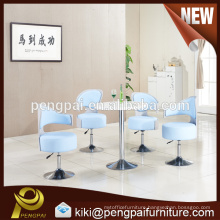 Round negotiation table and simple up and down chair