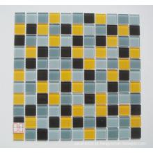Telha de mosaico de vidro (TM8027)
