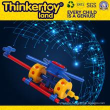 Educational Plastic Car Toys for Classroom DIY Builing Blocks