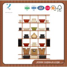 Floor Standing Gondola 4′ Wide X 5.5′ Tall Display Stand
