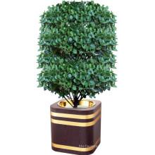 Лобби Деревянный Квадратный Цветочный Горшок
