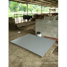 Масштаб для овец 1X1m 3ton с рельсами