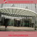 High Quality Long Span Dome Skylight Steel Frame Structure Roofing