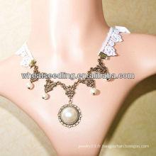 Nouveau collier pendentif en perle imitation LS-61