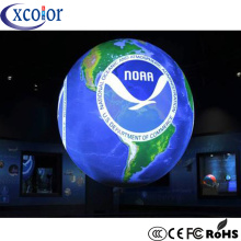 Sfera a LED con display a sfera P5 LED