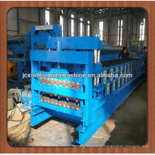JCX840&900-E1, Glazed tile and IBR double-layer roof metal sheet roll forming machine