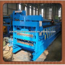 JCX840 & 900-E1, глазурованная плитка и двухслойная кровельная листовая машина для производства листового металла IBR