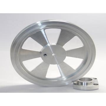 Prototipagem rápida de usinagem CNC de alumínio de metal personalizado