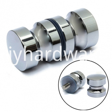 Brass metal chrome door knob