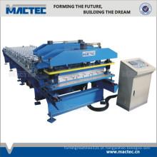 Alta qualidade 3-em-1 máquina formadora de chapa para o mercado da Nigéria
