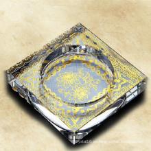 Colores Crystal Glass Ashtray Craft para regalo