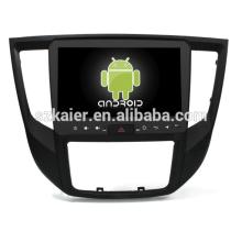 Núcleo Octa! Android 8.1 dvd do carro para MITSUBISHI LANCER 2017 com 9 polegada de Tela Capacitiva / GPS / Link Espelho / DVR / TPMS / OBD2 / WIFI / 4G