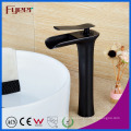 Fyeer High Body Orb Brass Waterfall Basin Faucet