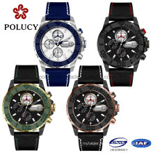 43mm Male Size Chronograph Collection Men′s Watches